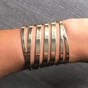 Thierry mugler gold bracelet
